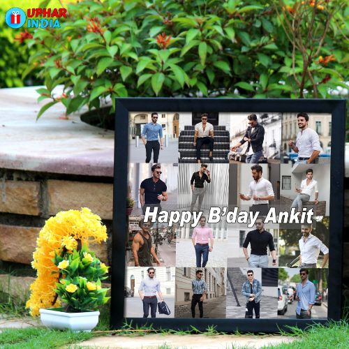 Birthday Frame Personalized Collage Frame For Birthday Uphar India